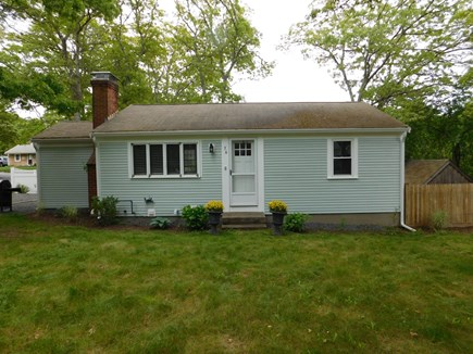 Dennis Cape Cod vacation rental - The yard gives plenty of space for any outdoor fun