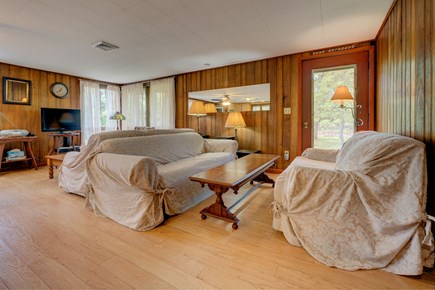 Eastham Cape Cod vacation rental - Wood-paneled walls offer coziness and character