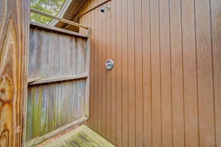 Eastham Cape Cod vacation rental - Wash off the beach with the outside shower before heading inside