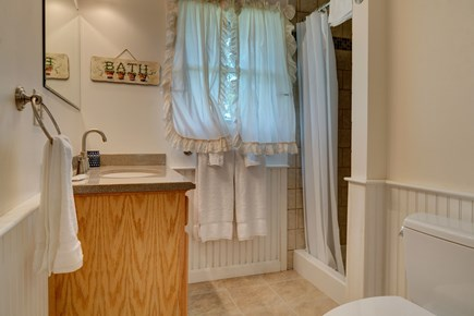 Eastham Cape Cod vacation rental - A full bathroom can accommodate guests with sink and shower