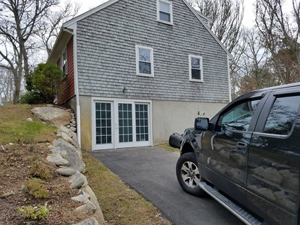 Falmouth Cape Cod vacation rental - New French Slider put in for easy access to family room/ thearter