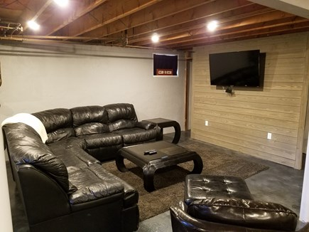 Falmouth Cape Cod vacation rental - Theater with smart Rocu tvTheater with smart roku tv! New,pingpon