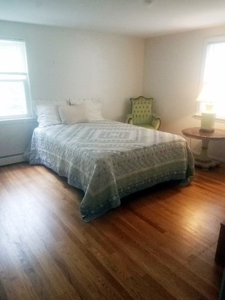 Falmouth Cape Cod vacation rental - Bedroom 1 Queen bed I crib, highchair