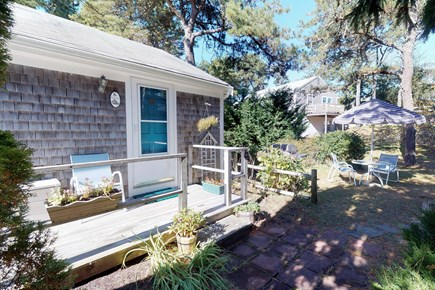 Orleans Cape Cod vacation rental - Spend the evening in the yard after an exciting day at the beach.