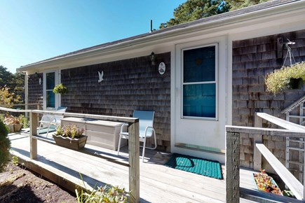 Orleans Cape Cod vacation rental - Spend the evening out on the deck grilling up some steaks.