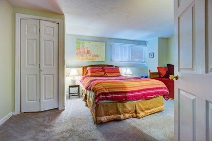 Provincetown Cape Cod vacation rental - Crash into this queen bed after a long day at the beach.