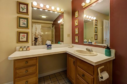 Provincetown Cape Cod vacation rental - Get washed and ready for the day in this full bathroom.