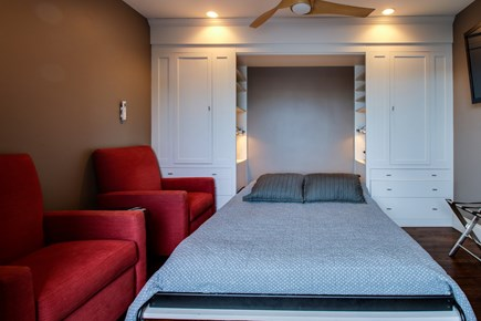 Provincetown Cape Cod vacation rental - There is room for more with this queen size bed.