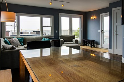 Provincetown Cape Cod vacation rental - Watch the sunset over the water from your living room.