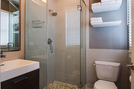 Provincetown Cape Cod vacation rental - This second bathroom will make sure everyone can get ready.