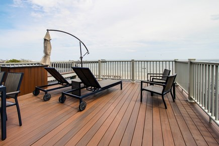Provincetown Cape Cod vacation rental - Come up onto the 400-square-foot deck and relax in the hot tub.