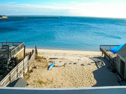 Provincetown Cape Cod vacation rental - The oceanfront view from the newly renovated penthouse.
