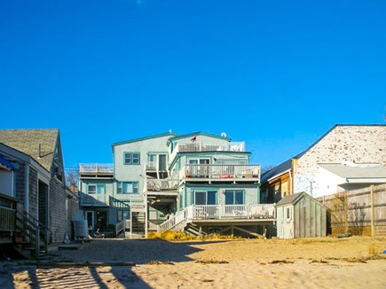 Provincetown Cape Cod vacation rental - Walk out your back door and straight onto the beach.