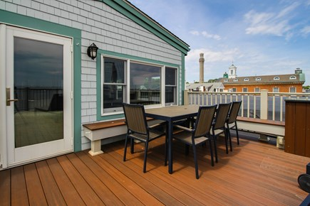 Provincetown Cape Cod vacation rental - Look out over the ocean on this beautiful roof top deck.
