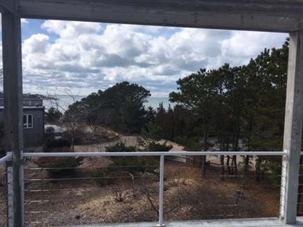 Wellfleet Cape Cod vacation rental - Deck view