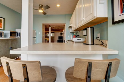 Provincetown Cape Cod vacation rental - Gather around the kitchen and plan your trip to the beach.