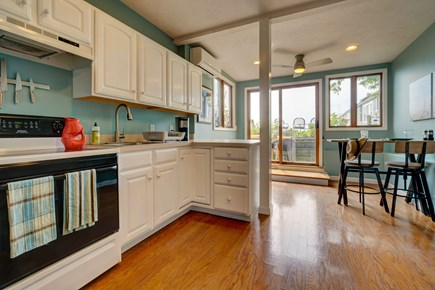 Provincetown Cape Cod vacation rental - The kitchen has everything you need to prepare a meal.