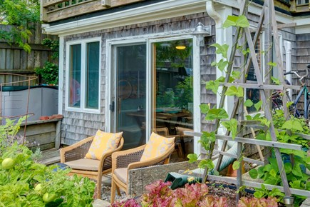 Provincetown Cape Cod vacation rental - Look out over the ocean from your private deck.