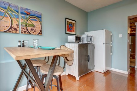 Provincetown Cape Cod vacation rental - Sit down and plan your day out over breakfast.