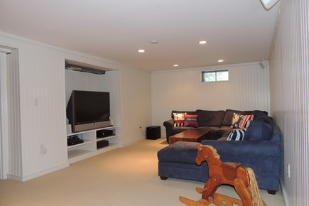 Harwich Port Cape Cod vacation rental - Finished basement