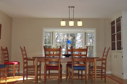 Harwich Port Cape Cod vacation rental - Comfortable dining room