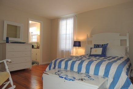 Harwich Port Cape Cod vacation rental - Comfy master bedroom and full bath