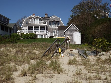 Chatham Cape Cod vacation rental - View of home from the beach (Lighthouse and Andrew Hardings).