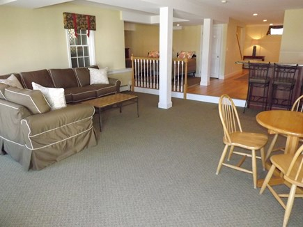 Chatham Cape Cod vacation rental - Another view of sitting area on the first level with wet bar.