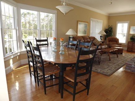 Chatham Cape Cod vacation rental - Dining area just next to the sitting area and living room.