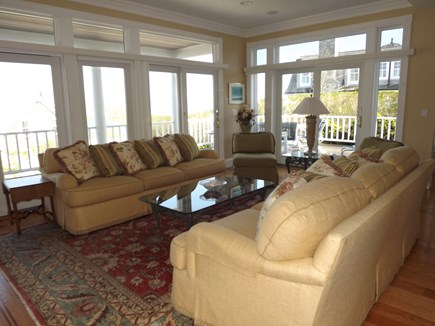 Chatham Cape Cod vacation rental - Main level sitting area with incredible views.