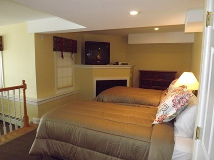 Chatham Cape Cod vacation rental - First level space with 2 twins, bathroom, sitting area and views!