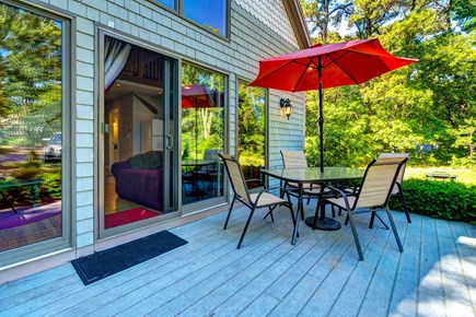 Eastham Cape Cod vacation rental - Relax on the deck and enjoy sun or star gaze at night