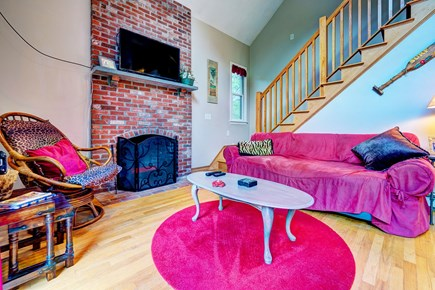 Eastham Cape Cod vacation rental - Bright floors and vibrant furniture will brighten any rainy day