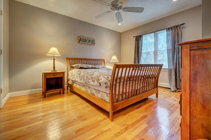 Eastham Cape Cod vacation rental - A comfy queen bed is perfect for relaxing after a fun filled day