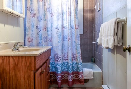 Provincetown Cape Cod vacation rental - Get washed and ready for the day in this bathroom.