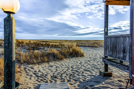 Provincetown Cape Cod vacation rental - The view from the deck of the house.