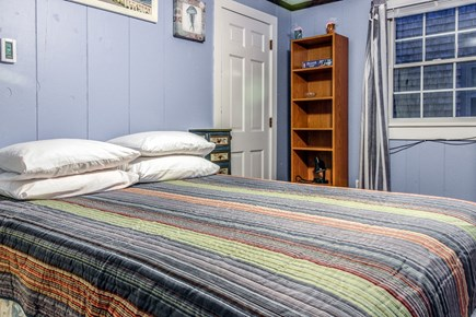 Provincetown Cape Cod vacation rental - This queen bed will be perfect for after a long day in the sun.