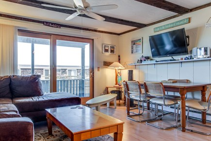 Provincetown Cape Cod vacation rental - Watch a show on the flat screen cable TV.