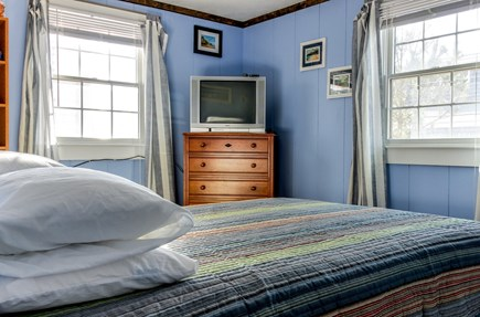 Provincetown Cape Cod vacation rental - Relax by watching some TV before bed.