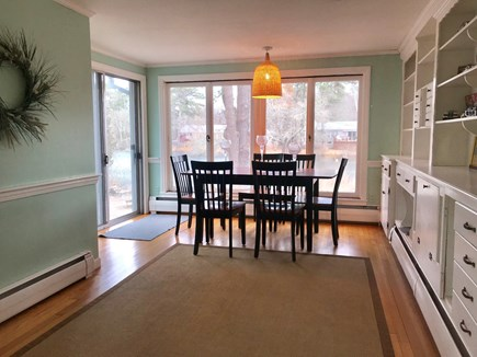 Centerville Centerville vacation rental - Spacious dining room with pond view