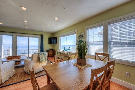 North Truro Cape Cod vacation rental - Dining table