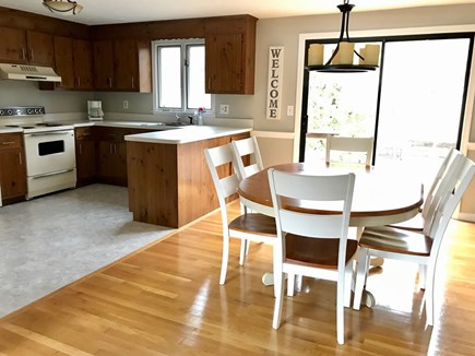 South Chatham Cape Cod vacation rental - Kitchen and Dining Area
