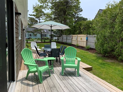 South Chatham Cape Cod vacation rental - Back Porch
