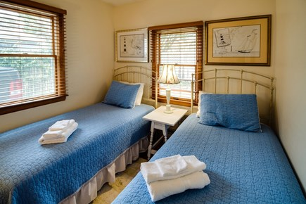 Falmouth Cape Cod vacation rental - Second bedroom is efficiently designed with two twin beds