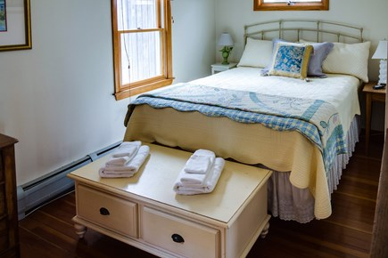 Falmouth Cape Cod vacation rental - Master bedroom has a tranquil feel and a queen bed