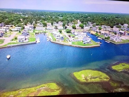 West Dennis Cape Cod vacation rental - Aerial view
