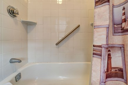 Falmouth Cape Cod vacation rental - A full bathroom has all the accommodations needed