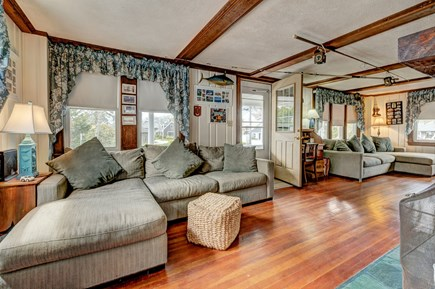 Falmouth Cape Cod vacation rental - Soft blues & warm wood shades reflect the ocean