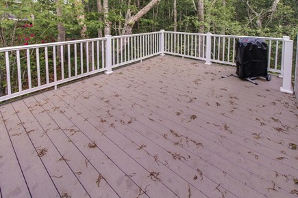 Harwich Cape Cod vacation rental - Enjoy the sunshine on this spacious back deck