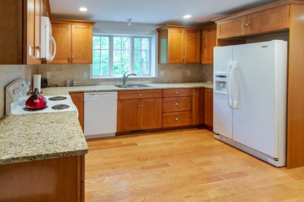 Harwich Cape Cod vacation rental - Kitchen features an abundance of space for prepping your meals
